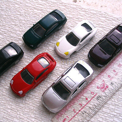 20 pcs OO Scale 1:75th painted Model Cars style #C