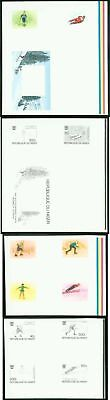 Niger 1976 Winter Olympics/Hockey/Figure Skating/Ski Jump COMPOSITE PROOF SHEETS