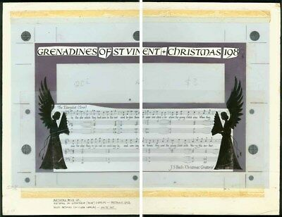 St. Vincent Grenadines 1984 Bach Christmas SS ESSAY