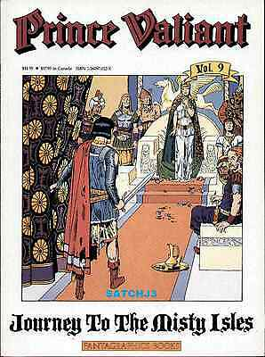 Prince Valiant Volume Nine 9 Fantagraphics Hal Foster Journey To Misty Isles 1St