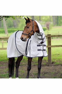 Masta Zing Lightweight Mesh Fly Horse Rug With Fixed Neck
