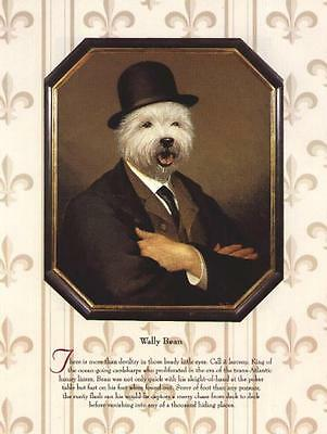* West Highland White Terrier - Vintage Dog Art Print