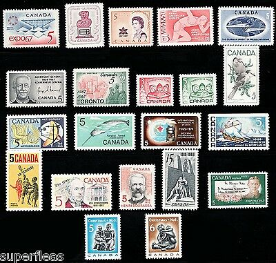 SUPERFLEAS 1967 1968 Complete Year Set / Canada mint MNH postage stamps