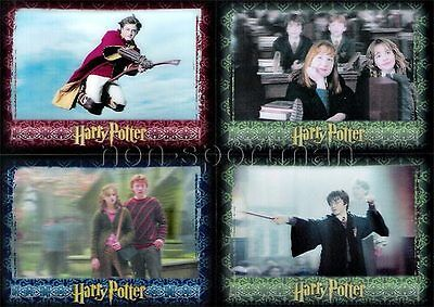 Harry Potter 3D Set Of 72 Cards