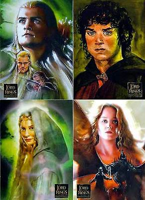 Lord Of The Rings Masterpieces Series 1 Set Of 90 Cards