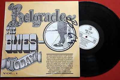 Belgrade Blues Today 1994 Rare Exyugoslavian V/a Lp