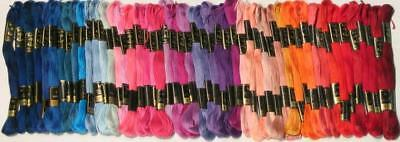 100 Anchor Embroidery Cross Stitch Threads Floss/skeins