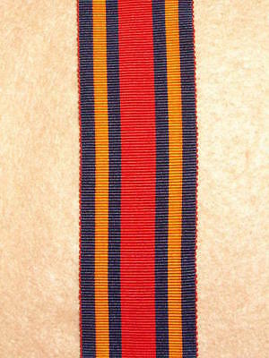 "6"" of SILK issue WW2 Burma Star Medal Ribbon"