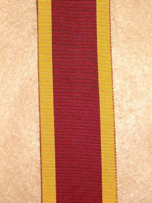 "6"" of SILK issue China 1842 Medal Ribbon"