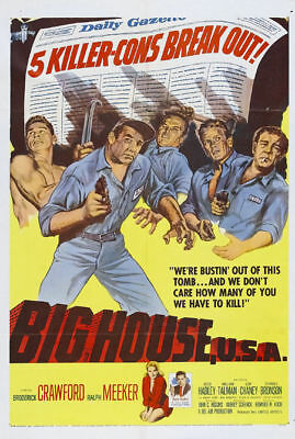 Big house USA Broderick Crawford #1 movie poster