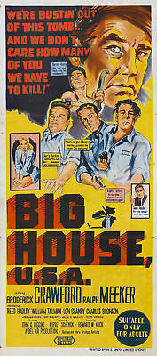 Big house USA Broderick Crawford #2 movie poster