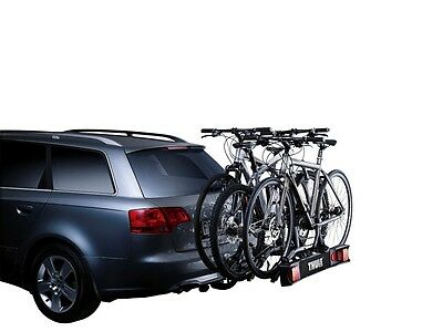 Thule 9503 3 Bike Cycle Carrier Towbar Towball Mounted Rack TILTABLE