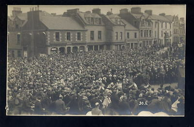 Scotland SELKIRK Common Riding Crowds 1920 RP PPC