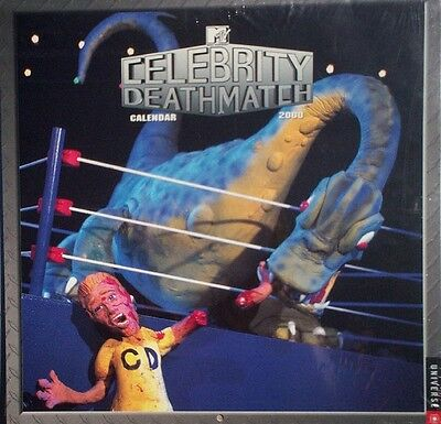 Celebrity Deathmatch 2000 Wall Calendar/MTV Claymation Series