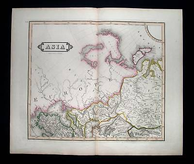 1827. LIZARS. North Asia, Russia, Ukraine, Black Sea...