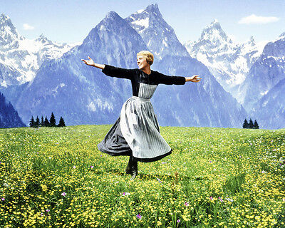 THE SOUND OF MUSIC JULIE ANDREWS 8X10 PHOTO