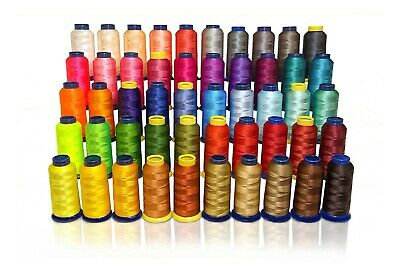 50 X-Lg Cone Poly Machine Embroidery Thread 4 Husqvarna