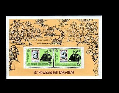 New Hebrides - Br - 1979 - Rowland Hill - Stamp On Stamp - Mint S/sheet!