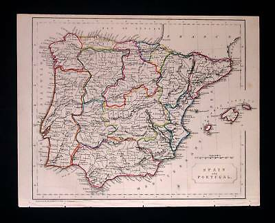1842. BECKER. Spain & Portugal, Espana, Lisboa, Madrid