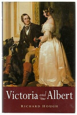 VICTORIA AND ALBERT by RICHARD HOUGH - HISTORY BOOK