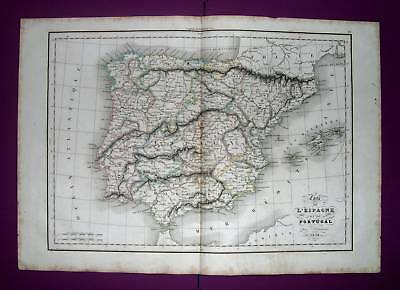 1838. DELAMARCHE. Balearic Islands, Portugal and Spain