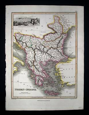 1815. THOMSON. Turkey in Europe, Greece, Costantinople