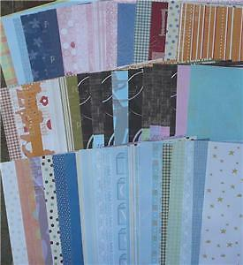 "12""X12"" Scrapbooking Australia Papers 60 Bulk Mix Value Free Postage"