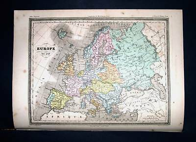 1877. FAYARD. Europe, Spain, Portugal, Germany, Italia