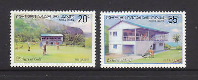 1980 Xmas Island 25 Years of Golf  MUH - Complete