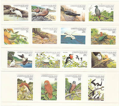 1982-83 Christmas Island Birds (Definitives) MUH