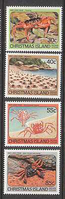 1984 Red Crabs of Christmas Island - MUH Complete Set