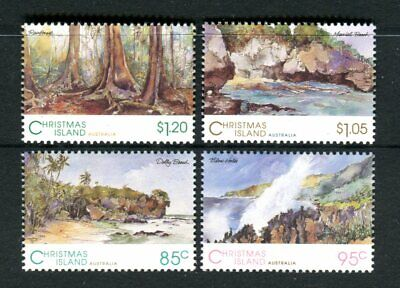 1993 Scenic  Views of Christmas Island MUH Complete Set