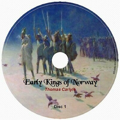 Early Kings of Norway by Thomas Carlyle 4 Audio CD English History Unabridged