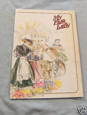 Australian Theatre Program - My Fair Lady