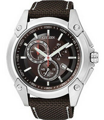 Citizen Eco Drive Chronograph Men's Watch AT0851-23W