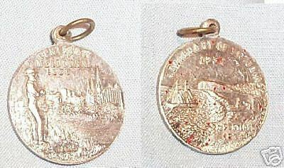 1934-35 MEDAL - CENTENARY OF VICTORIA, dirty