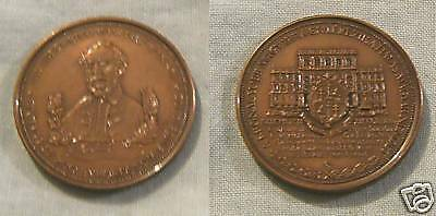 Large Bronze Medal From Hungary