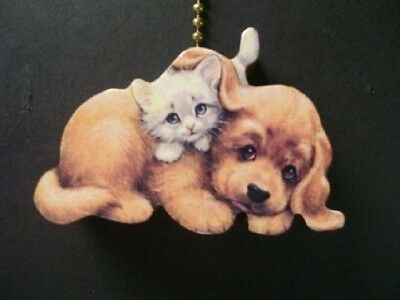 (1) Dog Cat Feline Ceiling Fan Pull Pulls