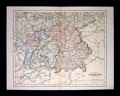 1880. CHAMBERS. Empire of Germany, Austria, Prussia...