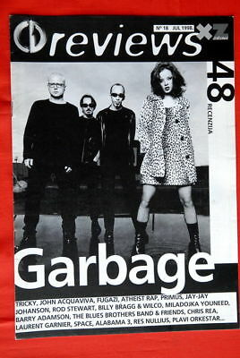 Garbage On Cover 1998 Rare Exyu Magazine