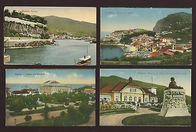 PORTUGAL MADEIRA c1920 COLLECTION PPCs...12 CARDS