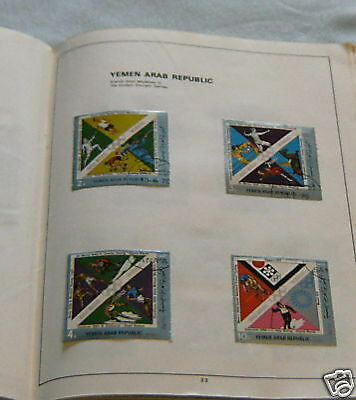 Stamp Set - Yemen, French Gold Medalists In Olympics