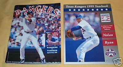 #ff. Two Texas Rangers Baseball Books