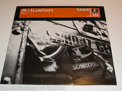 """A-Lusion, Re-Count (Scantraxx 009)12"""" Hardstyle Onne Witjes"""