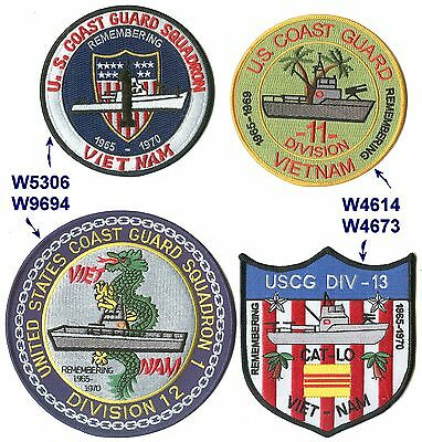 Div 11 RONONE Vietnam W4614  USCG Coast Guard patch