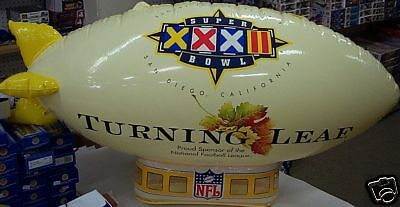 Turning Leaf Super Bowl XXXII San Diego 1998 Blimp New