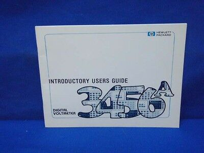 HP 3456A Introductory User's Guide