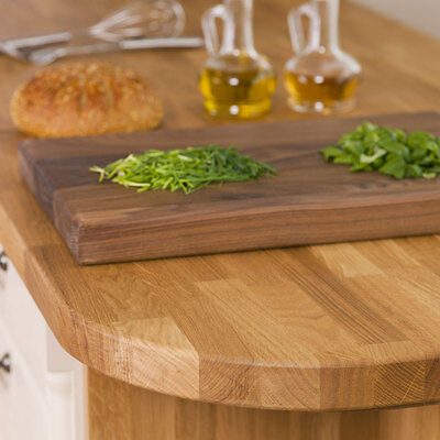 Oak Solid Wood Worktops, 40mm staves, Top Quality A Grade Timber