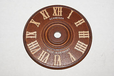 Replacement Wooden Cuckoo Clock Dial 9 Cm  New Parts