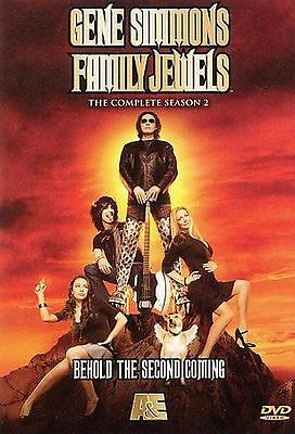 Gene Simmons Family Jewels - Complete Season 2 Two -NEW